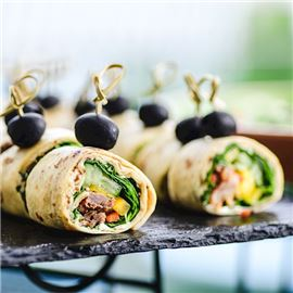 Sheraton Catering rolls