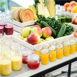 Sheraton Catering Fresh Juices